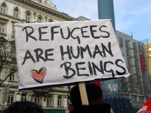 2013-02-16_-_Wien_-_Demo_Gleiche_Rechte_für_alle_(Refugee-Solidaritätsdemo)_-_Refugees_are_human_beings