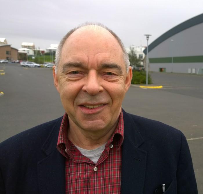 Bjarni Þór Jónsson, fulltrúi sýningarstjórnar