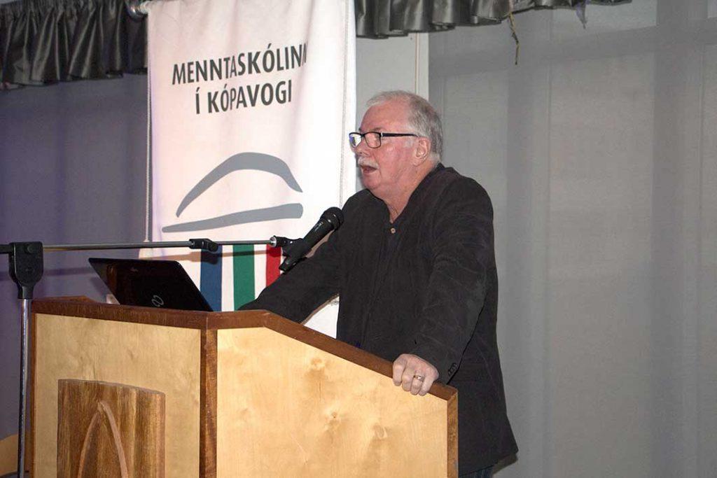 Helgi Pétursson fór á kostum í ræðu sinni hjá Sögufélagi Kópavogs á dögunum þar sem hann rifjaði upp bernskuár sín frá Digranesheiði.