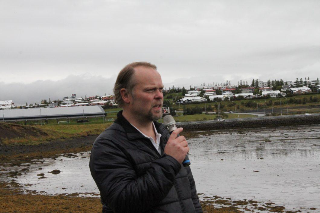 Finnur Ingimarsson, forstöðumaður Náttúrufræðistofu Kópavogs.