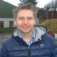 Jónas Páll Björnsson, framkvæmdastjóri Tennishallarinnar.